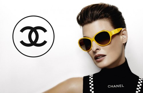 Linda Evangelista by Karl Lagerfeld for Chanel Eyewear SS 2012-001